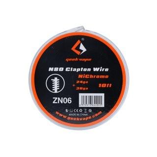 Geekvape N80 Clapton Wire - NiChrome 24ga+36ga 0,5mm