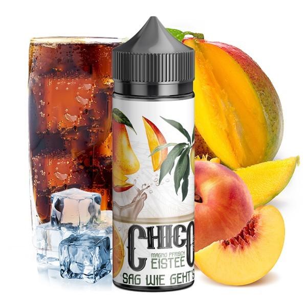 CHICO SAG WIE GEHT'S by Vapehansa Mango Pfirsich Eistee Aroma 20ml