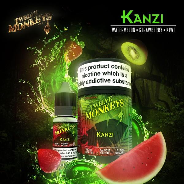 Liquid Kanzi 50ml - Twelve Monkeys