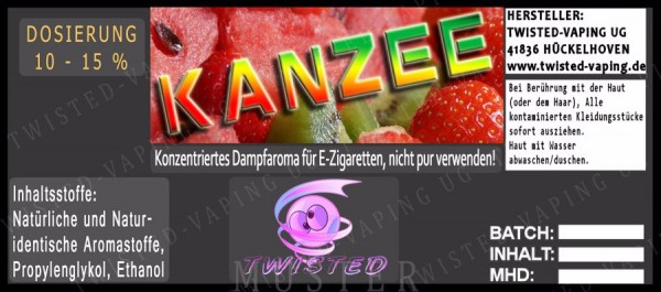 Aroma Kanzee - Twisted