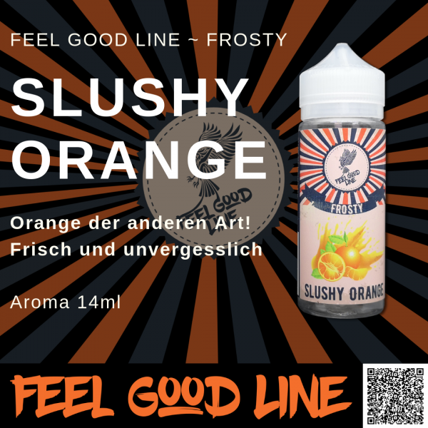 Slushy Orange - Feel Good Line Aroma 14 ml
