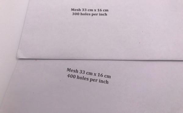 Mesh 33cm x 16 cm