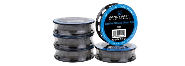 VandyVape Ni80 Superfine MTL Fused Clapton