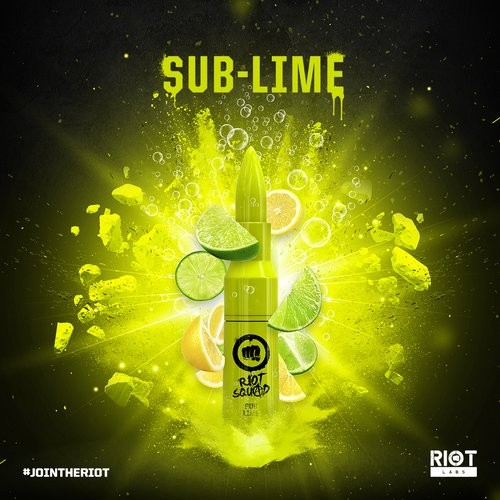Riot Squad - Sub Lime - 50ml