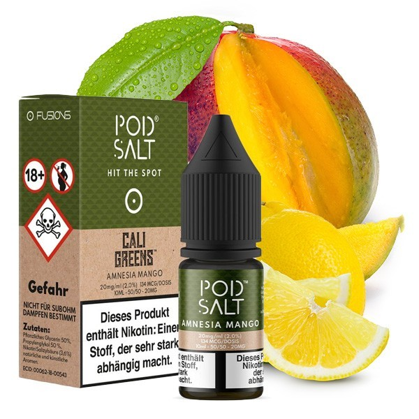 Pod Salt - Amnesia Mango 20mg/ml