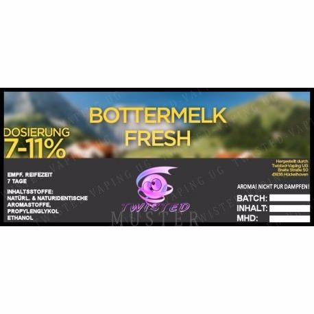 Aroma Bottermelk Fresh - Twisted