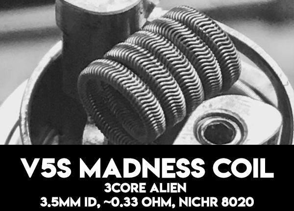 V5S MADNESS COIL - 0.33 Ohm
