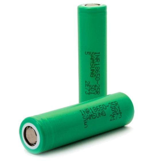 Akku Samsung INR 25R 18650 (2500 mAh) grün