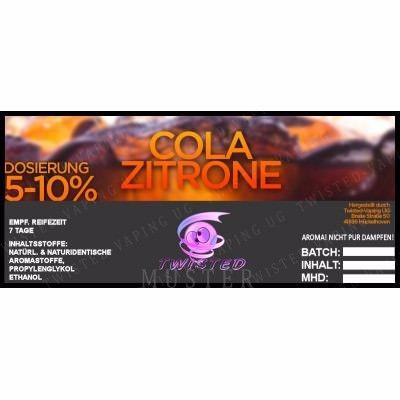 Aroma Cola Zitrone - Twisted